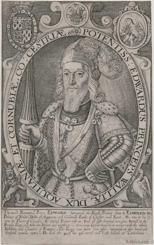 Edward, Prince of Wales, by Renold or Reginold Elstrack (Elstracke), published 1618 - NPG D33211 - © National Portrait Gallery, London