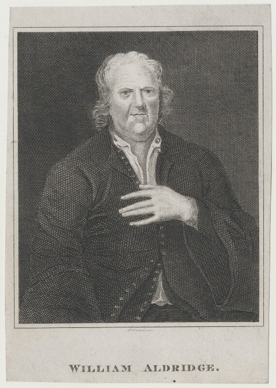 William Aldridge, by R. Grave, after  Unknown artist, published 1819 - NPG D31361 - © National Portrait Gallery, London