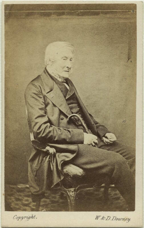 George Percy, 5th Duke of Northumberland, by W. & D. Downey, circa 1860 - NPG x21665 - © National Portrait Gallery, London