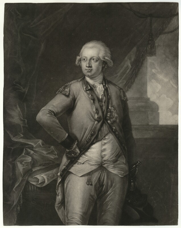 Frederick, Duke of York and Albany, by Domenico Cunego, after  Edward Francis Cunningham (Calze), 1780s - NPG D33217 - © National Portrait Gallery, London
