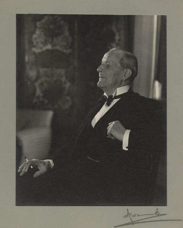 William Allen Jowitt, 1st Earl Jowitt, by Madame Yevonde, 19 February 1951 - NPG x24419 - © Yevonde Portrait Archive