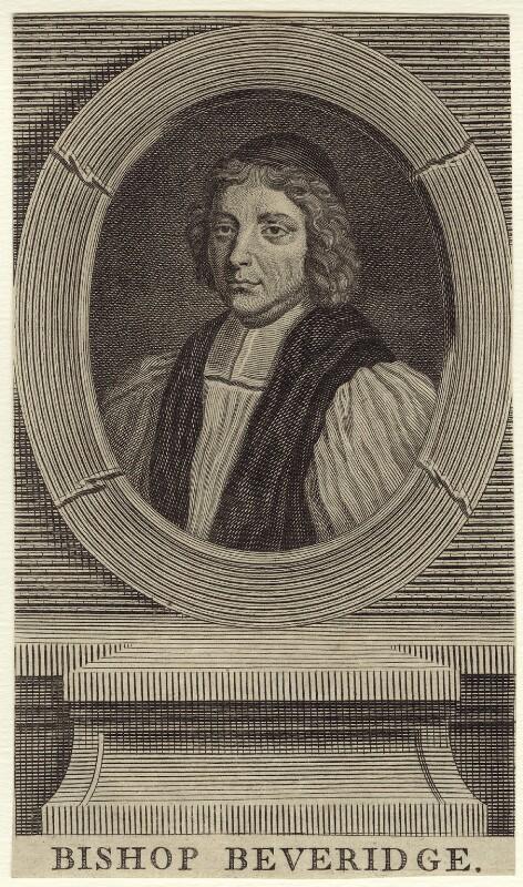 William Beveridge, after Benjamin Ferrers, mid 18th century - NPG D31438 - © National Portrait Gallery, London