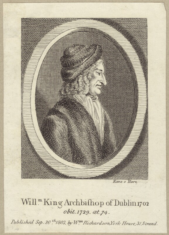 William King, by Kane O'Hara, after  R. Tighe, published by  William Richardson, published 1803 - NPG D31456 - © National Portrait Gallery, London