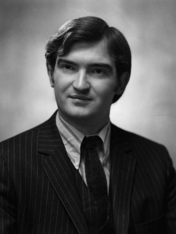 Bevis Hillier, by Bassano & Vandyk Studios, 31 December 1968 - NPG x174426 - © National Portrait Gallery, London
