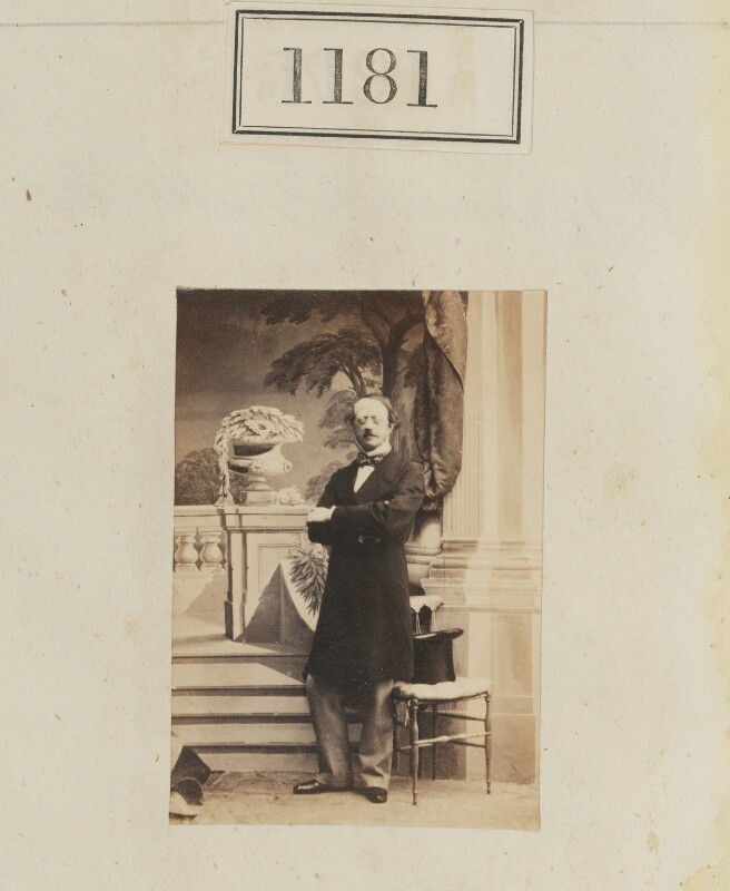 George William Frederick Brudenell-Bruce, 2nd Marquess of Ailesbury, by Camille Silvy, 1860 - NPG Ax50638 - © National Portrait Gallery, London