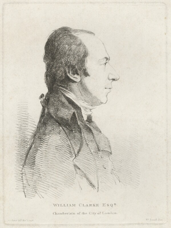 Richard Clark, by William Daniell, after  George Dance, (2 November 1798) - NPG D33301 - © National Portrait Gallery, London