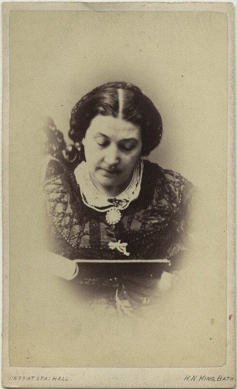 Giulia Grisi, by Horatio Nelson King, 1860s - NPG Ax39836 - © National Portrait Gallery, London
