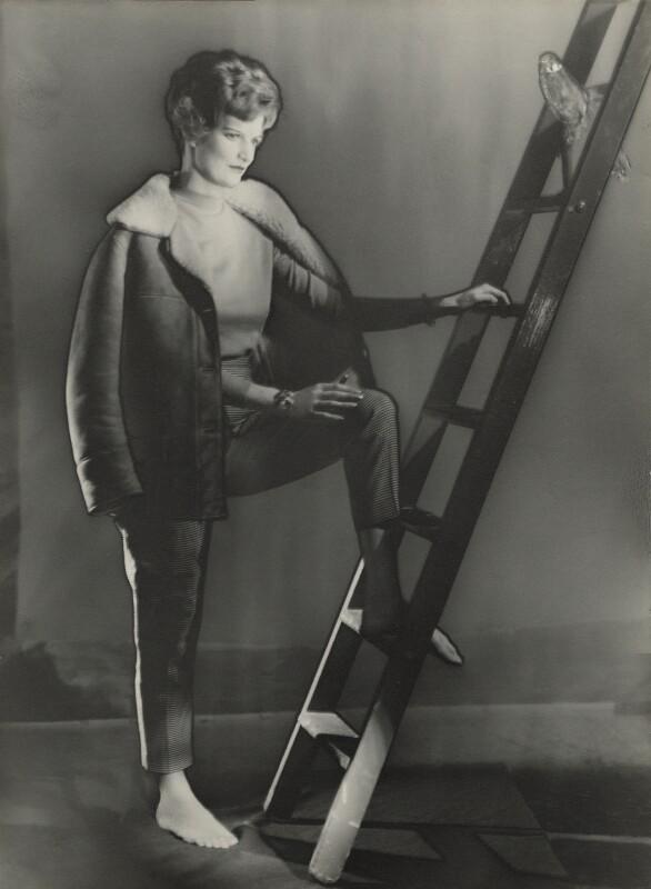 Caroline Fleur (née Vatcher), Lady Hobart, by Madame Yevonde, 1960s - NPG x29822 - © Yevonde Portrait Archive
