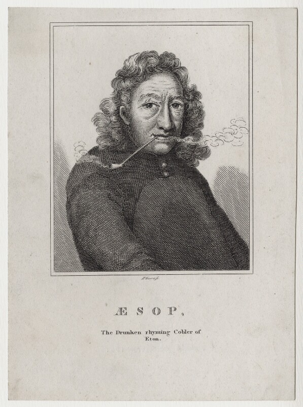 Aesop of Eton, by R. Grave, after  Unknown artist, published 1819 - NPG D27399 - © National Portrait Gallery, London