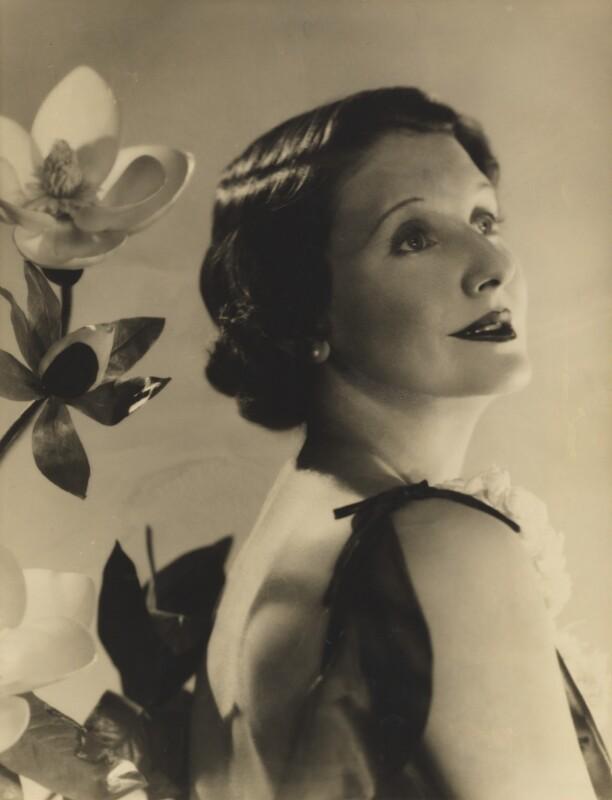 June (née Howard-Tripp), Lady Inverclyde, by Madame Yevonde, circa 1935 - NPG x26354 - © Yevonde Portrait Archive