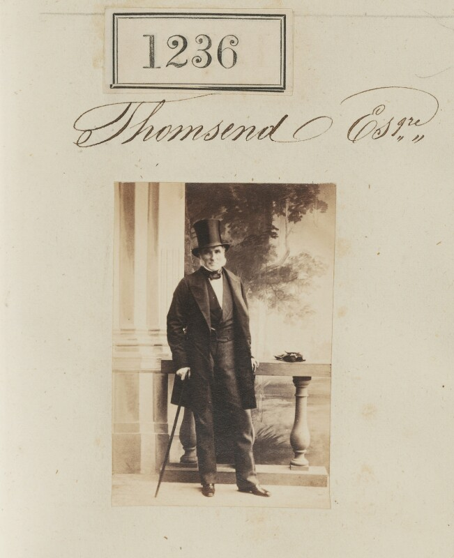 Samuel Thomas Townsend, by Camille Silvy, 1860 - NPG Ax50672 - © National Portrait Gallery, London