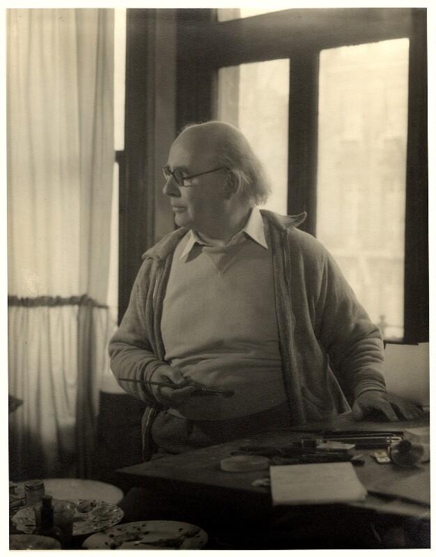 Edward Ardizzone, by Howard Coster, 1954 - NPG x1721 - © National Portrait Gallery, London