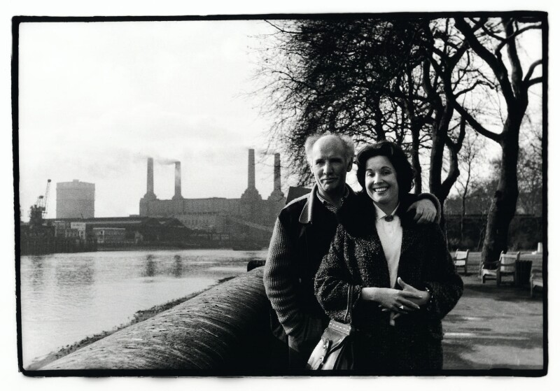 Bill Naughton; Erna Naughton (née Pirolt), by Colin O'Brien, January 1962 - NPG x131763 - © Colin O'Brien