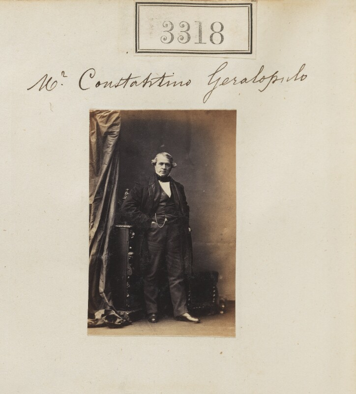 Constantine Geralopulo, by Camille Silvy, 26 April 1861 - NPG Ax52715 - © National Portrait Gallery, London