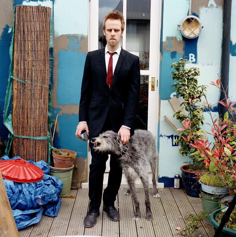 Stuart Pearson Wright, by Eamonn McCabe, 2005 - NPG x131779 - © Eamonn McCabe