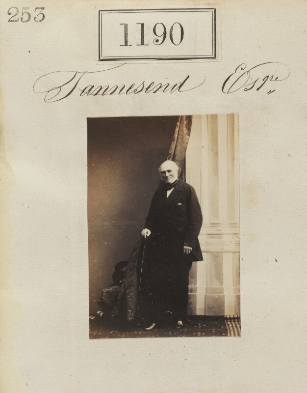 Samuel Thomas Townsend, by Camille Silvy, 1860 - NPG Ax50642 - © National Portrait Gallery, London