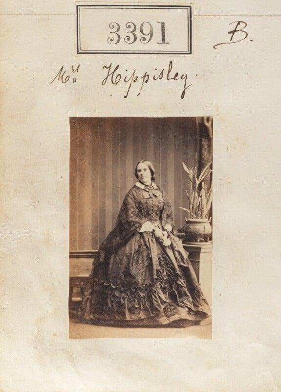 Elizabeth Mary Hippisley (née Sulivan), by Camille Silvy, 30 April 1861 - NPG Ax52788 - © National Portrait Gallery, London