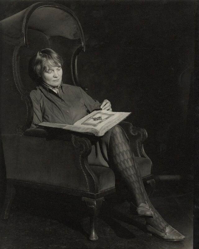 Iris Murdoch, by Madame Yevonde, 1967 - NPG x23319 - © Yevonde Portrait Archive / Mary Evans Picture Library