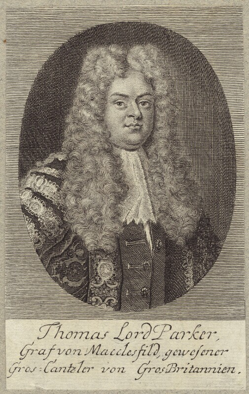 Thomas Parker, 1st Earl of Macclesfield, after Unknown artist, mid 18th century - NPG D27514 - © National Portrait Gallery, London