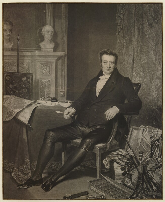 Thomas Clarkson, by Charles Turner, after  Alfred Edward Chalon, published 1828 - NPG D33313 - © National Portrait Gallery, London