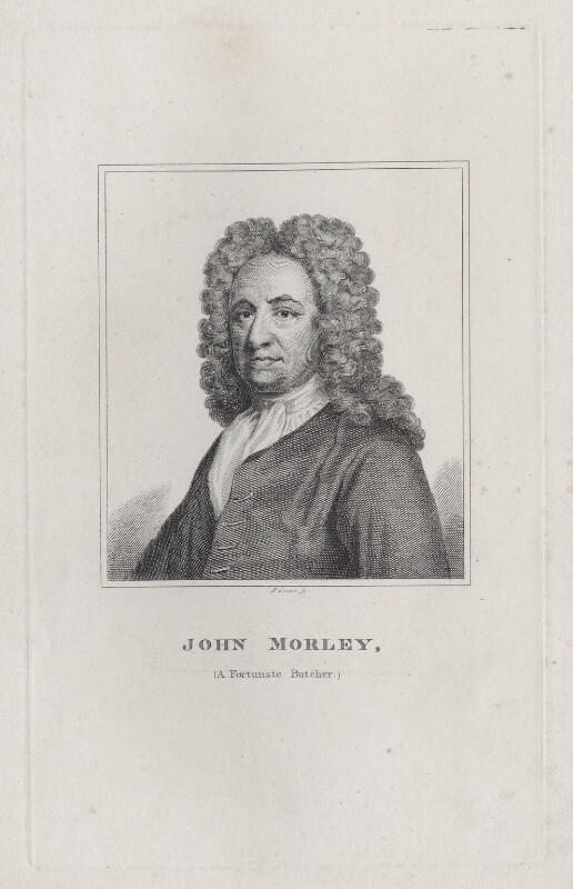 John Morley, by Robert Grave, after  Sir Godfrey Kneller, Bt, early 19th century - NPG D27549 - © National Portrait Gallery, London