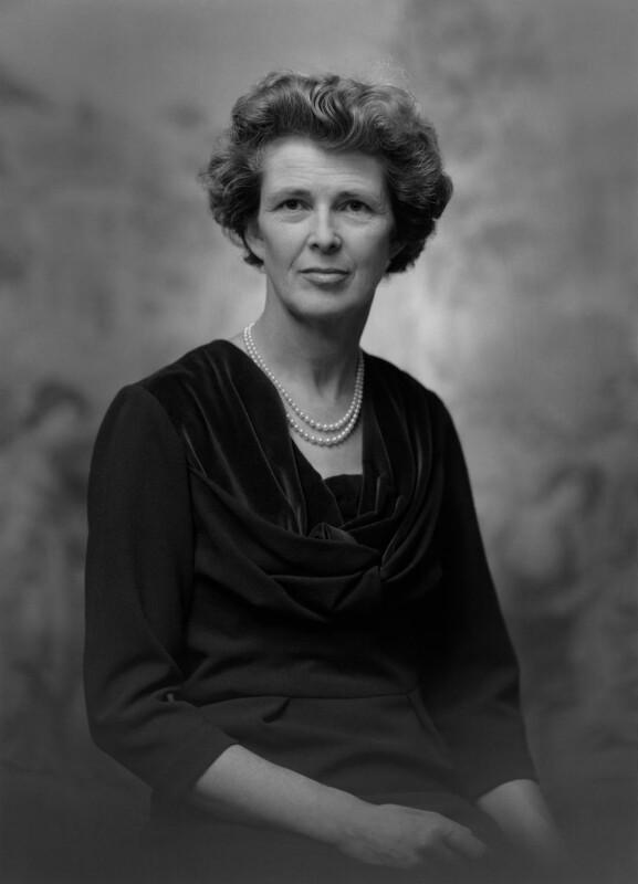 Margaret Jean (née Duff), Lady Arbuthnot, by Bassano & Vandyk Studios, 6 October 1969 - NPG x174677 - © National Portrait Gallery, London