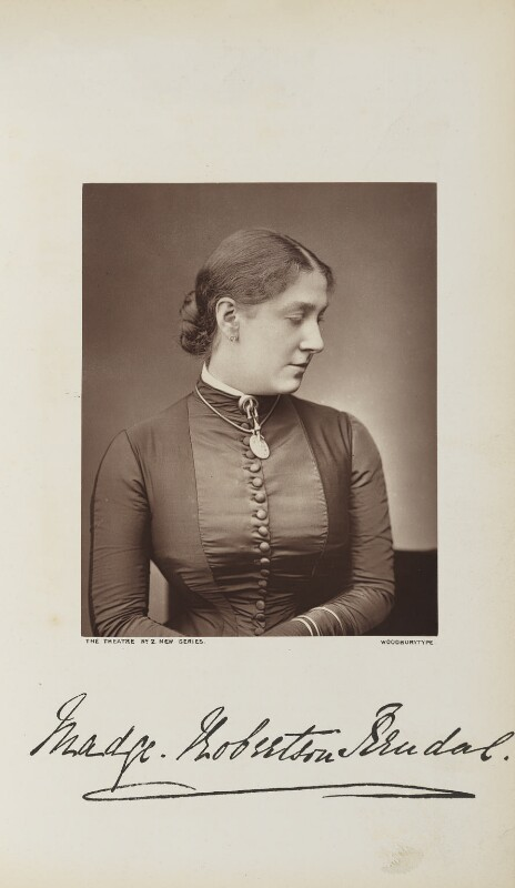 Madge Kendal, by Lock & Whitfield, published by  Wyman & Sons, published 1 September 1878 - NPG Ax28266 - © National Portrait Gallery, London