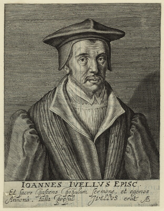 John Jewel, by Magdalena de Passe, by  Willem de Passe, 1620 - NPG D33378 - © National Portrait Gallery, London