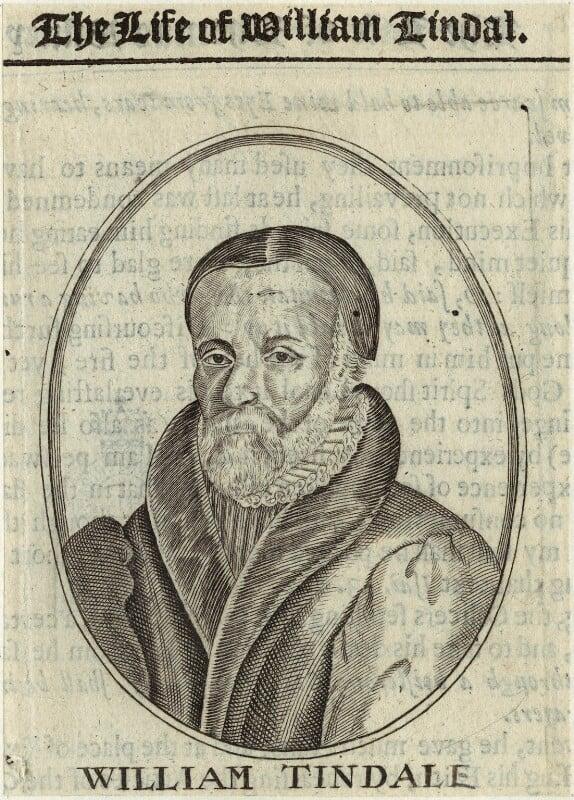 William Tyndale, after Unknown artist, 17th century - NPG D33384 - © National Portrait Gallery, London