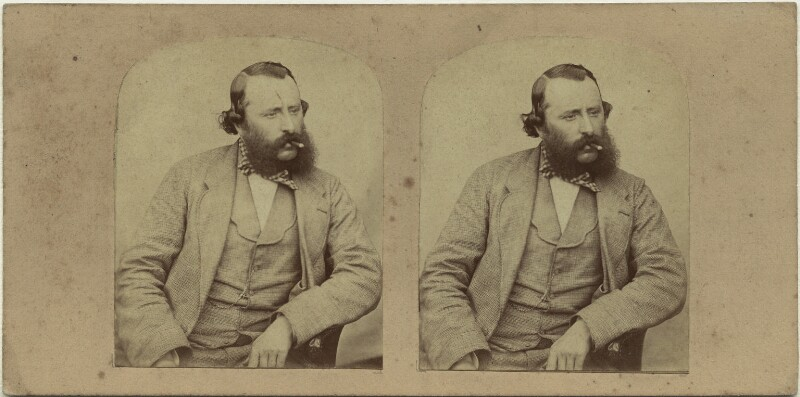 John James Glossop, by Unknown photographer, 1858 - NPG x131830 - © National Portrait Gallery, London