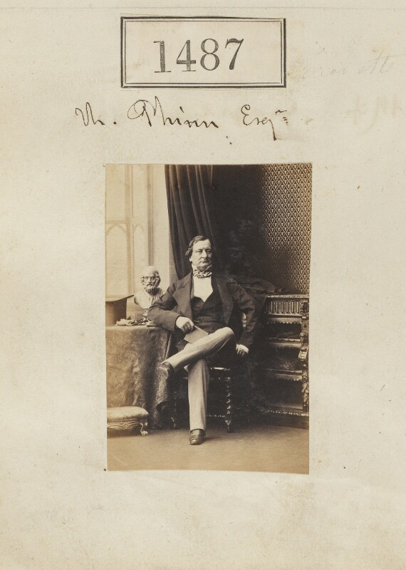 Thomas Phinn, by Camille Silvy, 20 October 1860 - NPG Ax50884 - © National Portrait Gallery, London