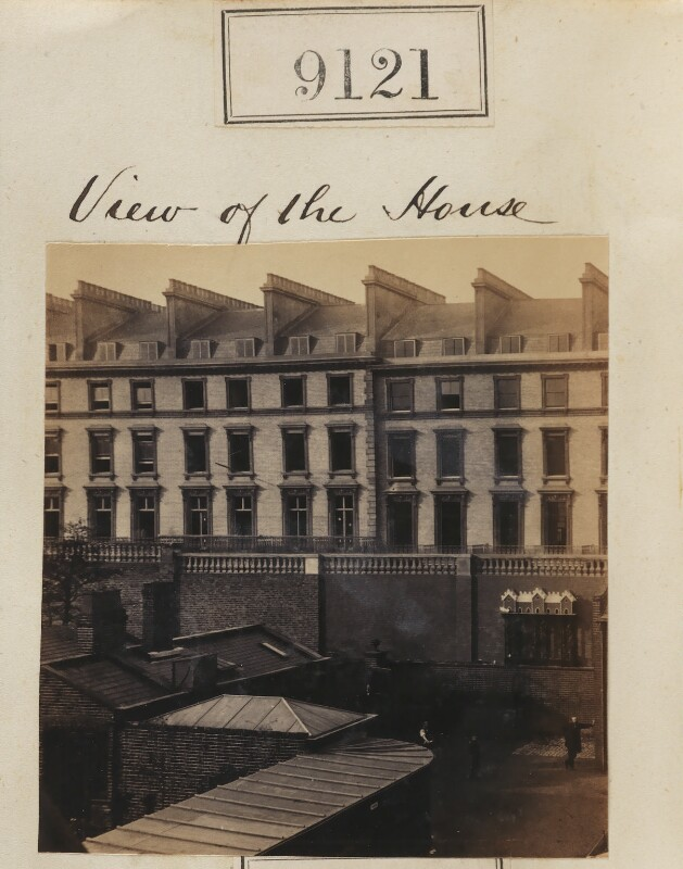 Npg ax58943 view of camille silvy 39 s photographic studio for 10 porchester terrace