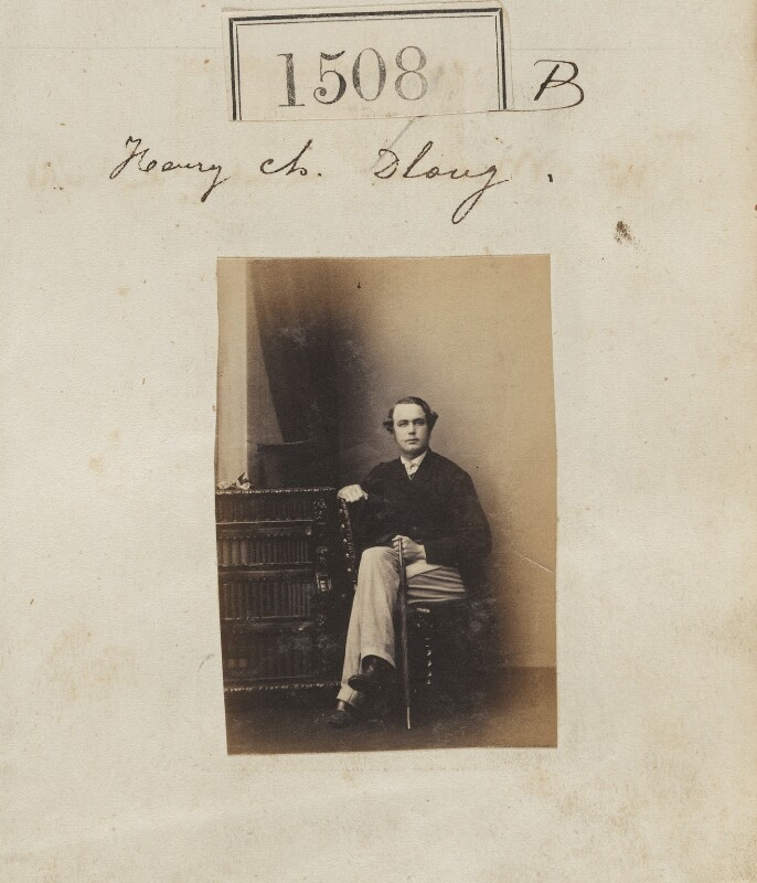 Henry Charles Dudley Long, by Camille Silvy, 23 October 1860 - NPG Ax50903 - © National Portrait Gallery, London