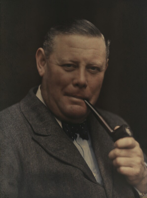 Sir Eric Campbell Geddes, by (Mary) Olive Edis (Mrs Galsworthy), 1920-1930 - NPG x7180 - © National Portrait Gallery, London