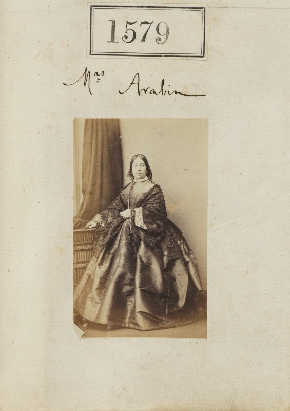 Elizabeth Mary Arabin (née Meux), by Camille Silvy, 1 November 1860 - NPG Ax50973 - © National Portrait Gallery, London