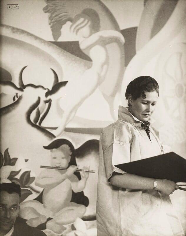 Anna Zinkeisen, by Madame Yevonde, 1936 - NPG x29817 - © Yevonde Portrait Archive