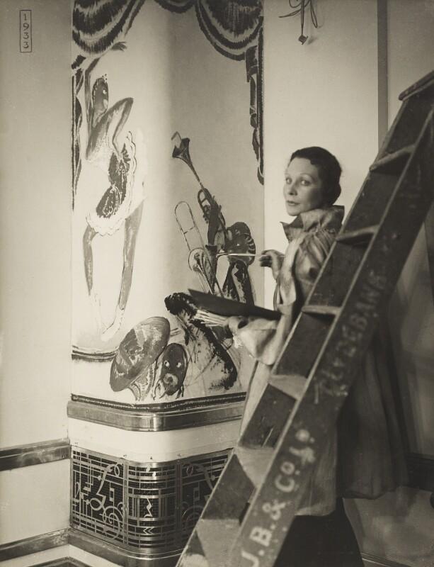 Doris Zinkeisen, by Madame Yevonde, 1936 - NPG x29818 - © Yevonde Portrait Archive