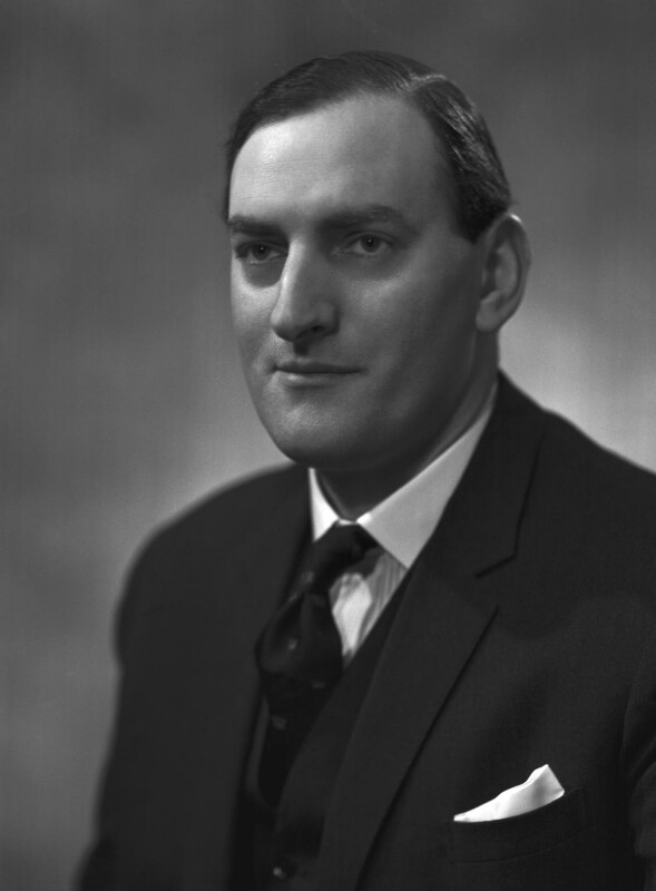 Sir Alcon Charles Copisarow, by Bassano Ltd, 8 March 1962 - NPG x174845 - © National Portrait Gallery, London