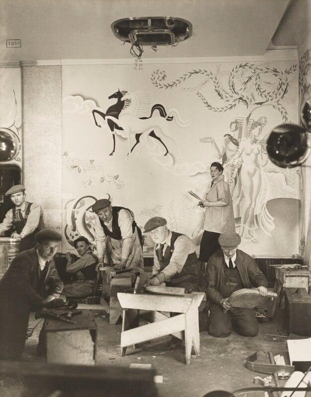 Anna Zinkeisen, by Madame Yevonde, 1936 - NPG x13174 - © Yevonde Portrait Archive