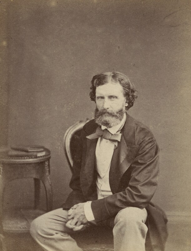 Sir Frederic William Burton, by Cundall, Downes & Co, or by  John Watkins, published 1864 (circa 1863) - NPG Ax131854 - © National Portrait Gallery, London