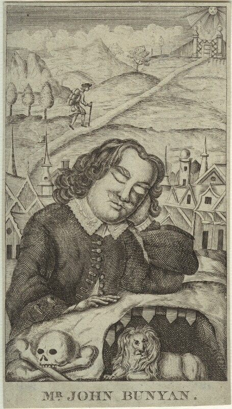 John Bunyan, after Robert White, (1679) - NPG D33458 - © National Portrait Gallery, London