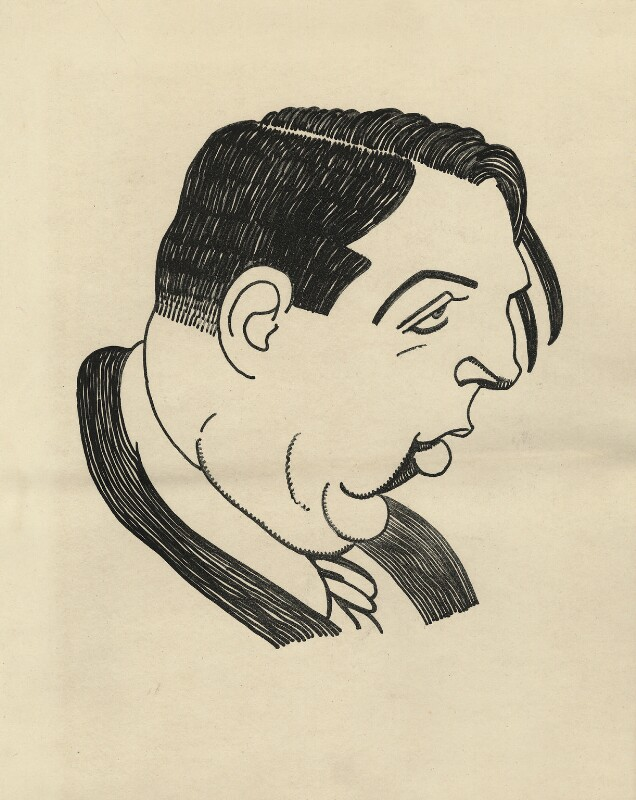 Claud Lovat Fraser, by Powys Evans, 1922 - NPG D33422 - © estate of Powys Evans