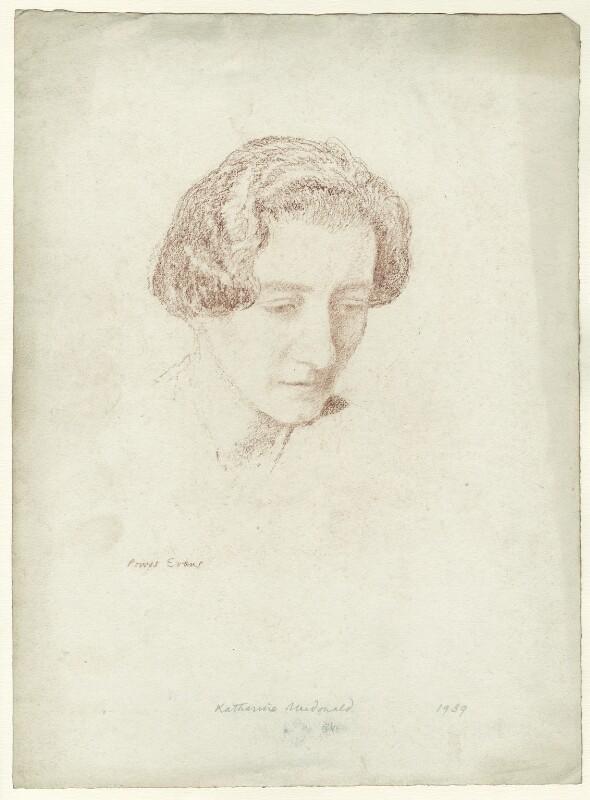 Katharine Macdonald, by Powys Evans, 1939 - NPG D33466 - © estate of Powys Evans