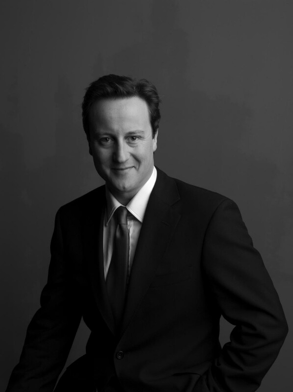 David Cameron, by Fergus Greer, March 2008 - NPG x131845 - © Fergus Greer