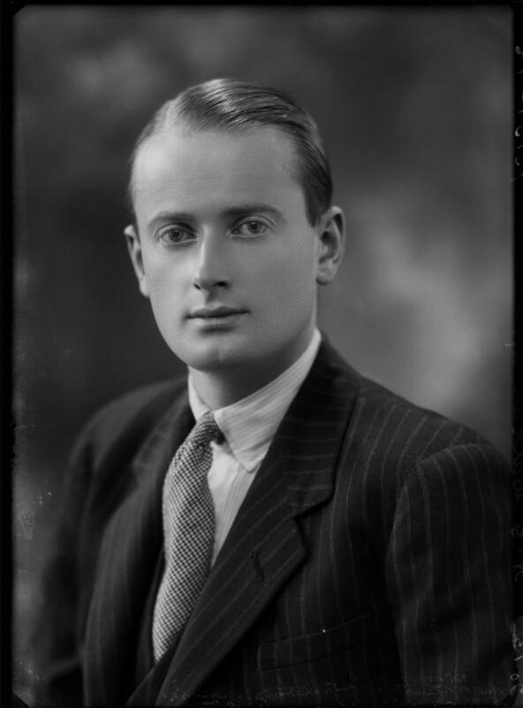 Gino Watkins, by Bassano Ltd, 20 January 1932 - NPG x153575 - © National Portrait Gallery, London