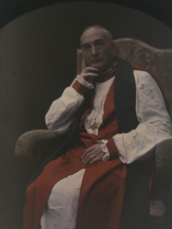 Arthur Foley Winnington-Ingram, by (Mary) Olive Edis (Mrs Galsworthy), 1920-1930 - NPG x7191 - © National Portrait Gallery, London