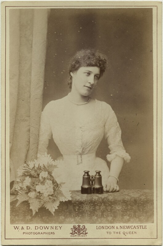 Lillie Langtry, by W. & D. Downey, early-mid 1880s - NPG x131999 - © National Portrait Gallery, London
