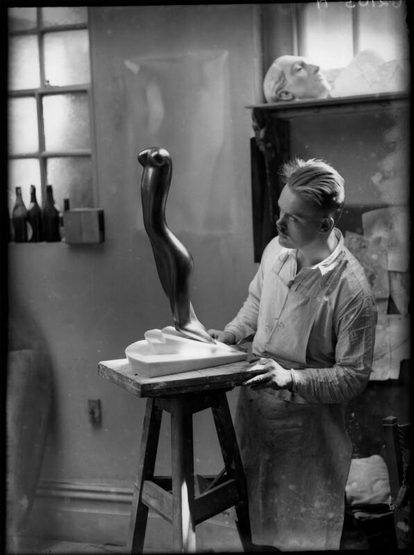 Maurice Lambert, by Yvonne Gregory, 1929 - NPG x132006 - © estate of Yvonne Gregory / Camera Press