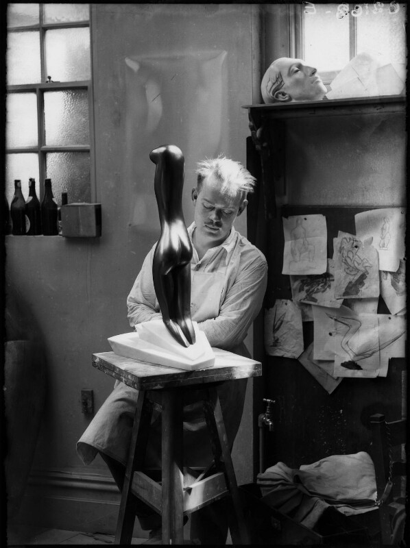 Maurice Lambert, by Yvonne Gregory, 1929 - NPG x132010 - © estate of Yvonne Gregory / Camera Press