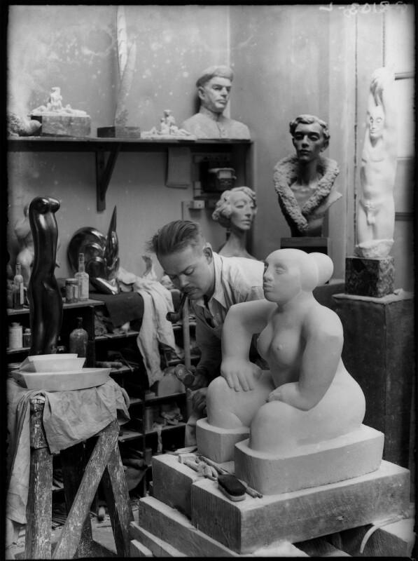 Maurice Lambert, by Yvonne Gregory, 1929 - NPG x132014 - © estate of Yvonne Gregory / Camera Press